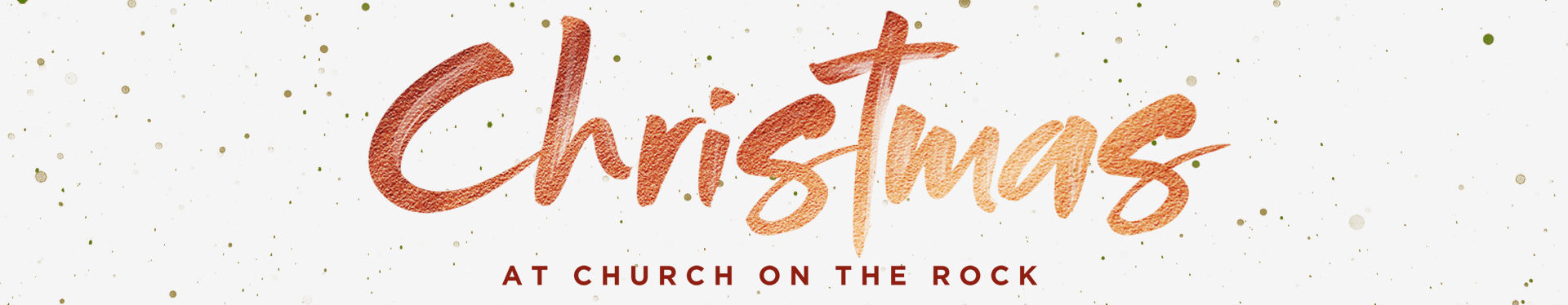 Celebrate Christmas at Church On The Rock