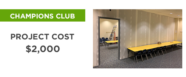 Church on the Rock's Champions Club - Project Cost: $2,000