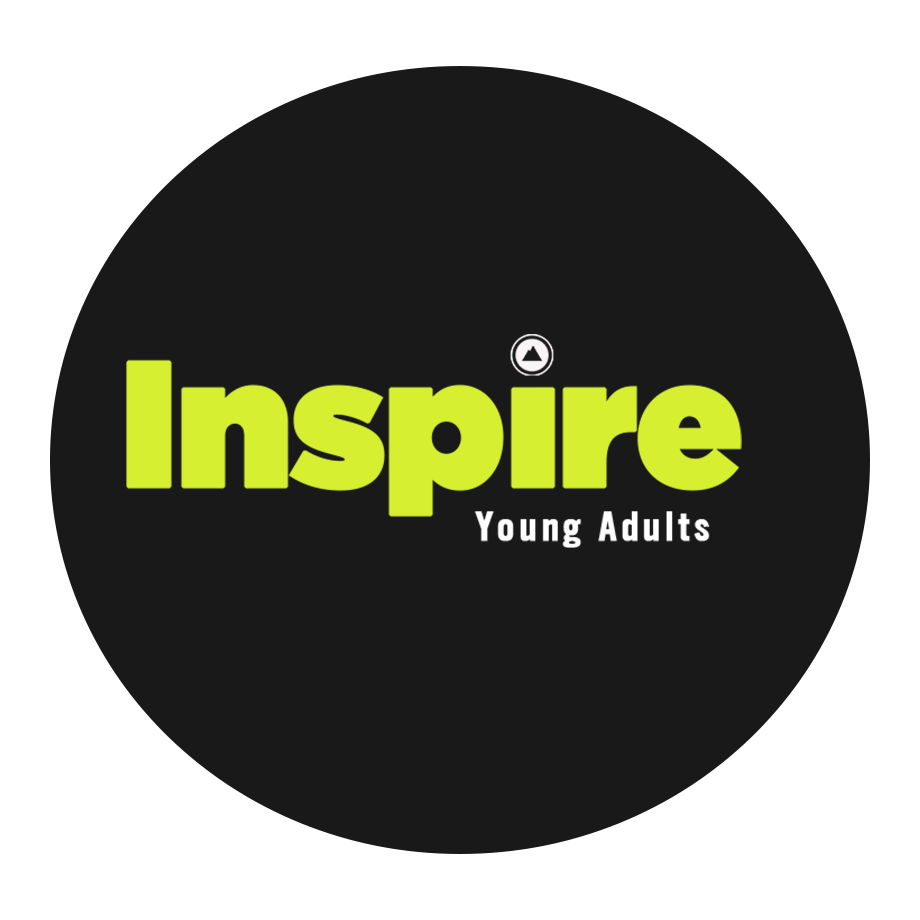 Church on the Rock's Inspire Young Adults ministry logo
